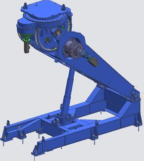 Manipulator LTS 250 for robotic welding