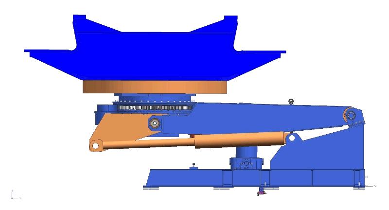 Manipulator HDK 63 za varjenje z robotom